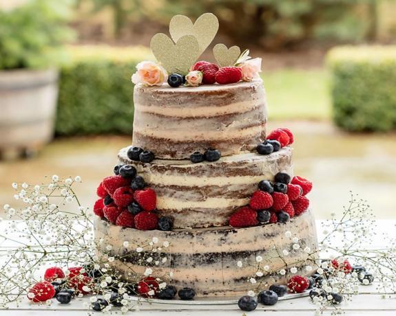 Naked Cake ( Çıplak Pasta )
