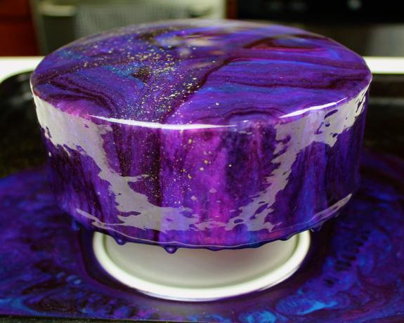 Глазурь зеркальный торт