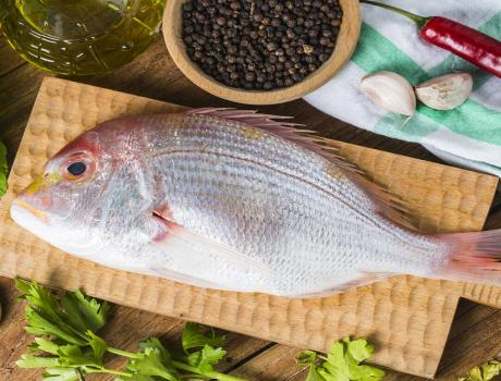 Fish in Salt - Salt Fish Recipe