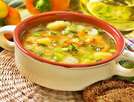Vegetable Soup - Vegetable Soup Recipe